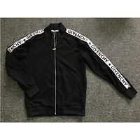 DCCK UA Givenchy zipper jacket (Givenchy written on the sides of the sleeves)
