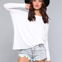 Renee Star Dolman Top - White - What's New | GYPSY WARRIOR