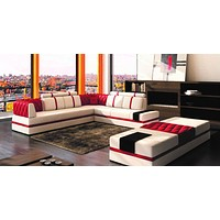Contemporary Luxury Magdalena Modular Sectional Sofa
