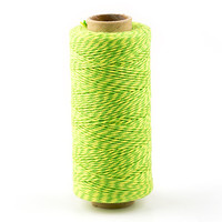 Baker's Twine, Green and Yellow Mix, 136 Yds