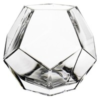 CYS Geometric Faceted Gem Glass Vase - Contemporary - Vases - by CYS EXCEL, INC