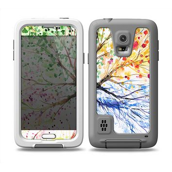 The WaterColor Vivid Tree Skin Samsung Galaxy S5 frē LifeProof Case