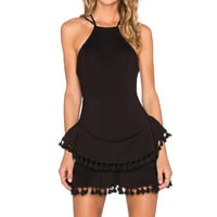 NBD Uh Huh Honey Dress in Black