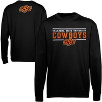 Majestic Oklahoma State Cowboys Lasting Strength Long Sleeve T-Shirt - Black
