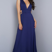 Rania Maxi Dress - Navy