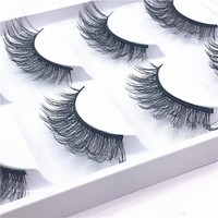 Luxury 5 pairs thick false eyelashes black long 3d mink eyelashes eyelash extension professional mink lashes makeup eye lashes15