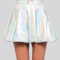 Trippin' Hologram Skirt - Clothes | GYPSY WARRIOR