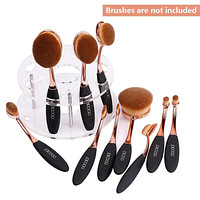 Oval Makeup Brush Holder Stand
