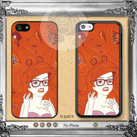 The little mermaid iPhone 5s case, iPhone 5C Case iPhone 5 case, iPhone 4 Case Disney ariel iPhone case Phone case ifg-000176