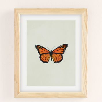 Chelsea Victoria The Queen Butterfly Art Print | Urban Outfitters