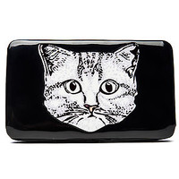 Clutch Wallet Pussy Patent Leather