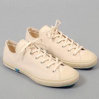 shoes like pottery - low top vulcanized sneakers white canvas