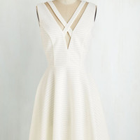 Mid-length Sleeveless A-line Picture Prix Fixe Dress by ModCloth