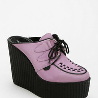 Underground Lace-Up Creeper Mule - Urban Outfitters