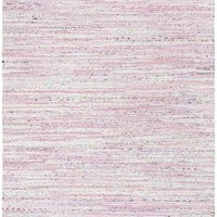 Safavieh Rag Rug RAR125E Light Pink / Multi Rug