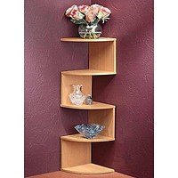 Corner Display Shelf
