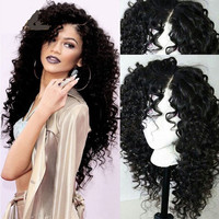Brazilian Glueless Wigs with Natural Looking Curls