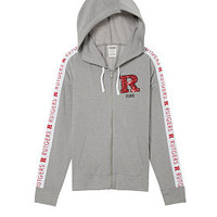 Rutgers University Bling Perfect Full-Zip - PINK - Victoria's Secret