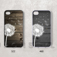 Phone Cases, iPhone 5 Case, iPhone 5s Case, iPhone 5c case, iPhone 4 Case, iPhone 4s case, The dandelion, Case for iphone, Case No-20