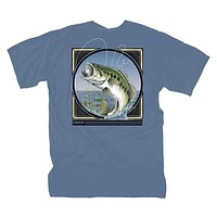Bass Jumping Tee by Fripp Outdoors