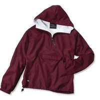 Charles River Apparel Women's Water Resistant Windbreaker Pullover