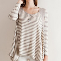 Yasmine Striped Top