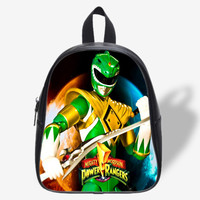 Mighty Morphin Power Rangers Green Rangers for School Bag, School Bag Kids, Backpack