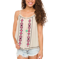 Sedona Top in Ivory