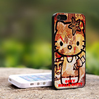 Obey Hello Kitty iPhone 5 Case, iPhone 4 Case, iPhone 4s Case, iPhone 4 Cover, Hard iPhone 4 Case