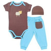 Hudson Baby Bamboo Layette Set | Affordable Infant Clothing