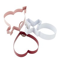 Valentine Cookie Cutters on Ring