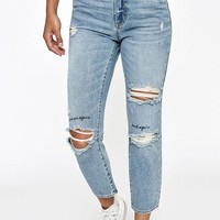 VONE05W PacSun Marley Blue Mom Jeans