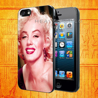 Marylin Monroe for iPhone 5S, iPhone 5C, iPhone 5, iPhone 4S, iPhone 4, Samsung S3 i9300, Samsung S4 i9500