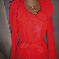 Bill Blass Red Robe
