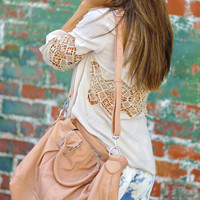 Carry Me Closely Purse: Tan | Hope's