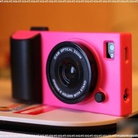 HOTER 3D Vintage Style Camera IPHONE 4 /4S Case - Hot Pink:Amazon:Cell Phones & Accessories