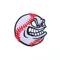 Baseball Applique Iron on Patch