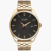 Nixon Bullet Watch All Gold/Black One Size For Men 25573077401