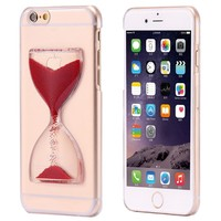 Case Cover for iPhone Cute Crystal Clear Liquid Glitter S 6 6S 6