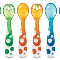 Munchkin 6 Piece Fork and Spoon Set
