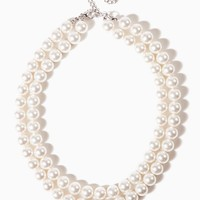 """18"""" Double-Strand Pearl Necklace 