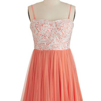 ModCloth Short Length Sleeveless A-line Treasured Twirl Dress