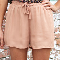 All Around Town Shorts {Taupe}