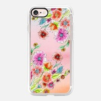 lovely spring flowers iPhone 7 Carcasa by Julia Grifol Diseñadora Modas-grafica | Casetify
