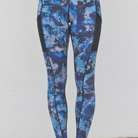 Got the Blues Abstract Leggings