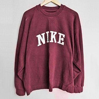 NIKE Fashion Casual Long Sleeve Sport Top Sweater Pullover Sweatshirt From F