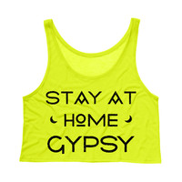 Stay at Home Gypsy Tank Top Crop
