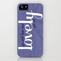 The Scientist by Coldplay iPhone Case by Charlotte Horsfall