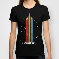 Star Trek - Boldly Go T-shirt by Kona