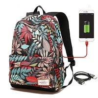 Cell Phone Accessories - Backpacks For Women USB Charging Backpack